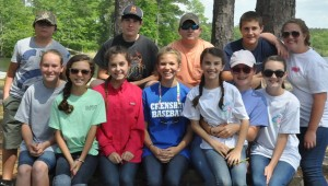 CCA sixth grade honor students.