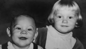 Phillip Anthony and Lynn Moore, children of Phillip and Judy Moore. He was three, and she was five.