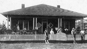 Clara Flinn's home, built on the 315-acre plot in Rutledge in 1866.