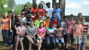 LHS sixth grade honor students.