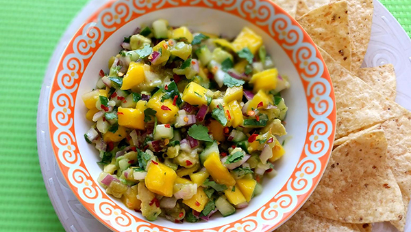 Georgiana home cook Debora Hotard's mango, avocado and cucumber salsa recipe has been awarded a blue ribbon at Just A Pinch Recipes, a recipe and coupon social network for home cooks.  Hotard is one of 23 Georgiana residents sharing recipes with the social network.
