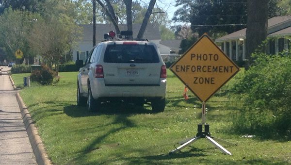 Since the Brantley Police Department invested in a camera and radar REDFLEX system, the number of speeding violations in the town has gone down tremendously.