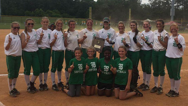 The Brantley High School Lady Bulldogs will head to the state championship tournament on Wednesday in Montgomery.