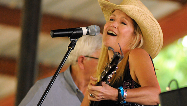 Kim Carson was one of the many musicians that paid tribute to country music legend and Butler County native Hank Williams during the 37th annual Hank Williams Festival, which was held in Georgiana on Friday and Saturday. (Advocate Staff/Andy Brown)