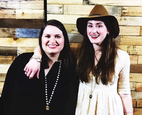 Cousins Laura Tucker Moore, right, and Elizabeth Anne McGowin, left, will share the stage at the Hank Williams Festival. They are scheduled to perform between 2:30 p.m. and 3 p.m. today. (Submitted photo)