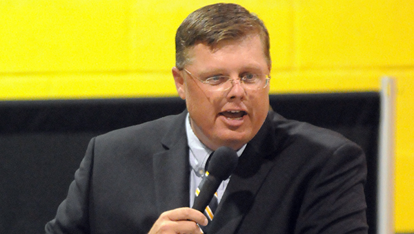 Former McKenzie School head football coach Miles Brown has been named principal of McKenzie School. The hire was approved by the Butler County Board of Education Tuesday night. (File photo)
