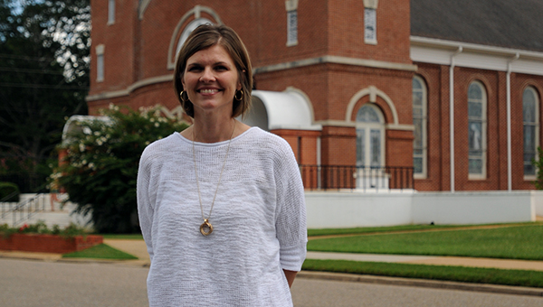 Angie Long, a Montgomery native and former executive pastor at Spanish Fort United Methodist Church, is the new pastor at First United Methodist Church in Greenville. (Advocate Staff/Andy Brown)