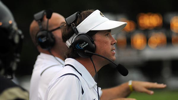 Greenville High School head coach Josh McLendon has hired former GHS coach Frederick Newton to lead his defense in 2016. (File photo)