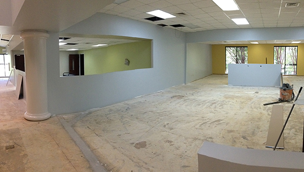 The Greenville-Butler County Public Library, which is currently operating on a limited basis as it undergoes renovations, will close near the end of the month to allow contractors to complete planned renovations for the Community Room. The libraray should reopen Aug. 19. (Courtesy photo)