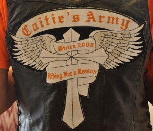 In 2005, Tee Terry's niece Caitie was diagnosed with brain cancer. When this happened, Terry says the main support group that came to their aid was the biker community.