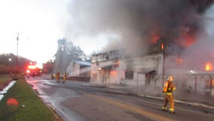 Along with LFD, seven other county departments lent a hand to combat the inferno.  (Submitted by William Neal)