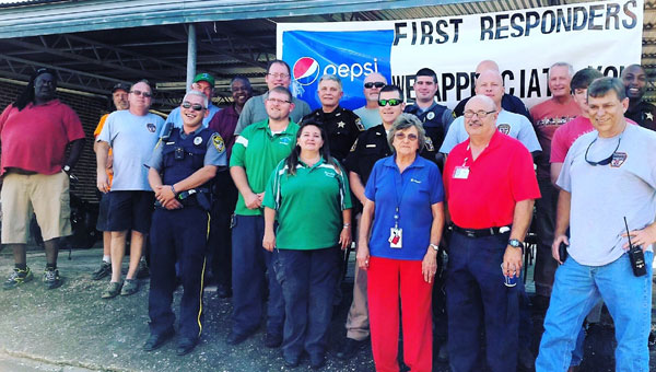 Workers at City Finance held an appreciation breakfast for all county first responders last week to show their support.