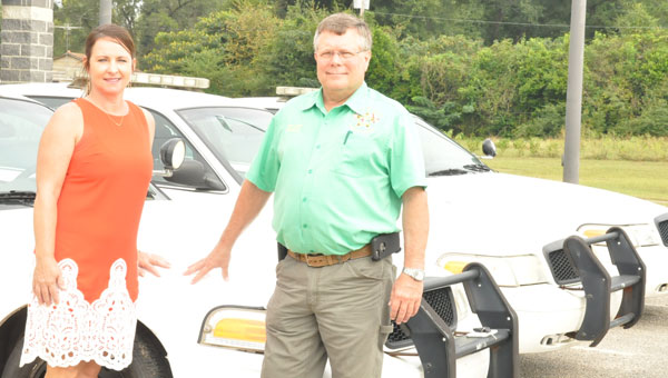 Thanks to the generosity of the Mobile Police Department and the determination of Crenshaw County Commissioner Michelle Stephens, the Crenshaw County Sheriff's Office is now the proud owner of three more patrol vehicles.
