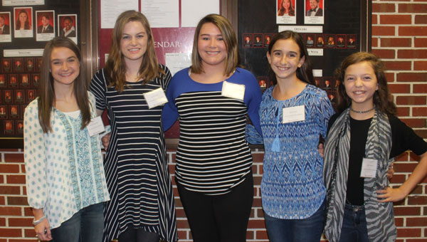 Students from Luverne High School, Brantley High School and Crenshaw Christian Academy had the chance to attend Troy University's annual Journalism Day (J-Day) last week (Photos by Shayla Terry).