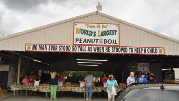 """For the 46th year in a row, the Crenshaw County Alacazar Shrine Club hosted their annual """"World's Largest Peanut Boil"""" on Labor Day weekend. (Photo by Beth Hyatt)"""